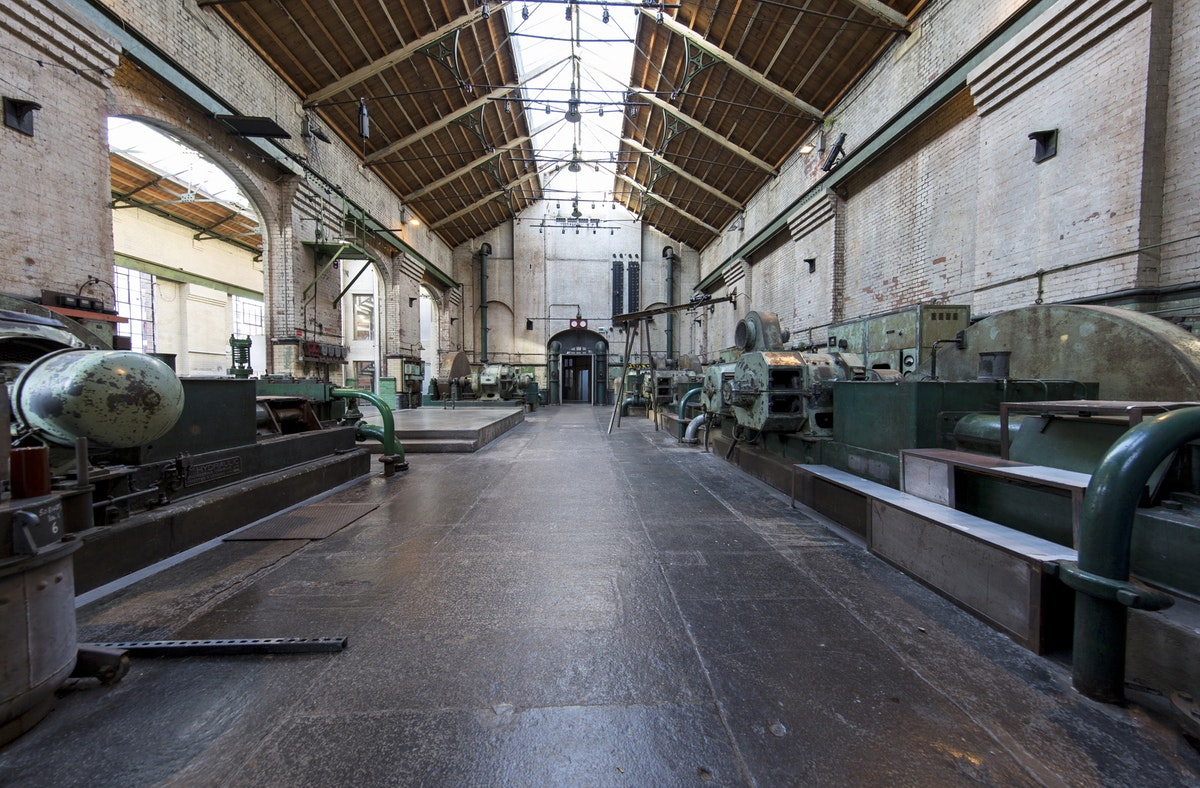 Wapping's Hydraulic Power Station comes onto the market for events
