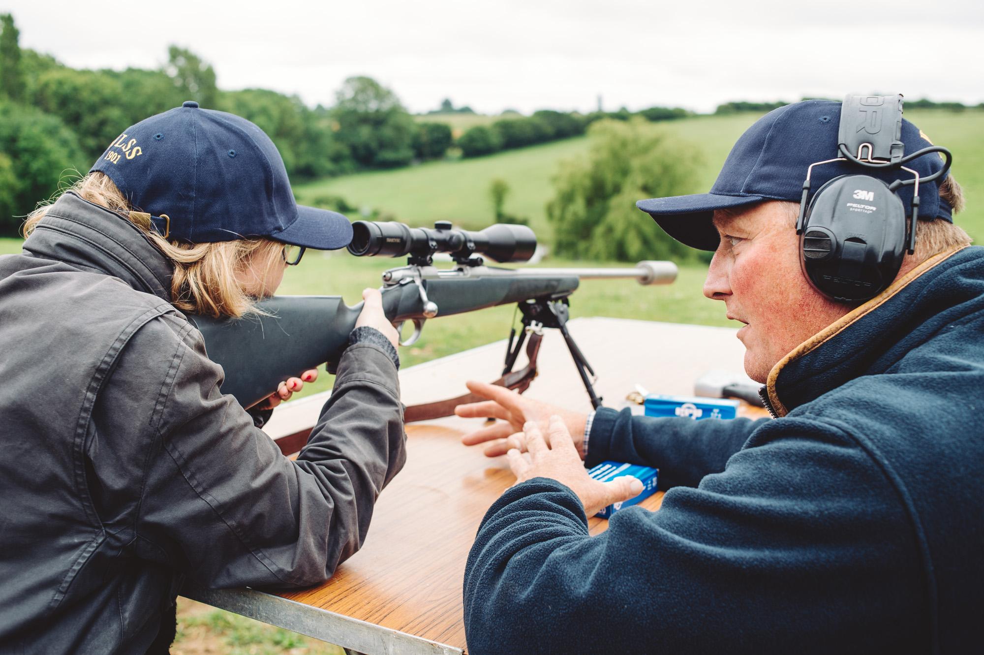 Teambuilding Deerstalking masterclass with West London Shooting School credit Justine Trickett