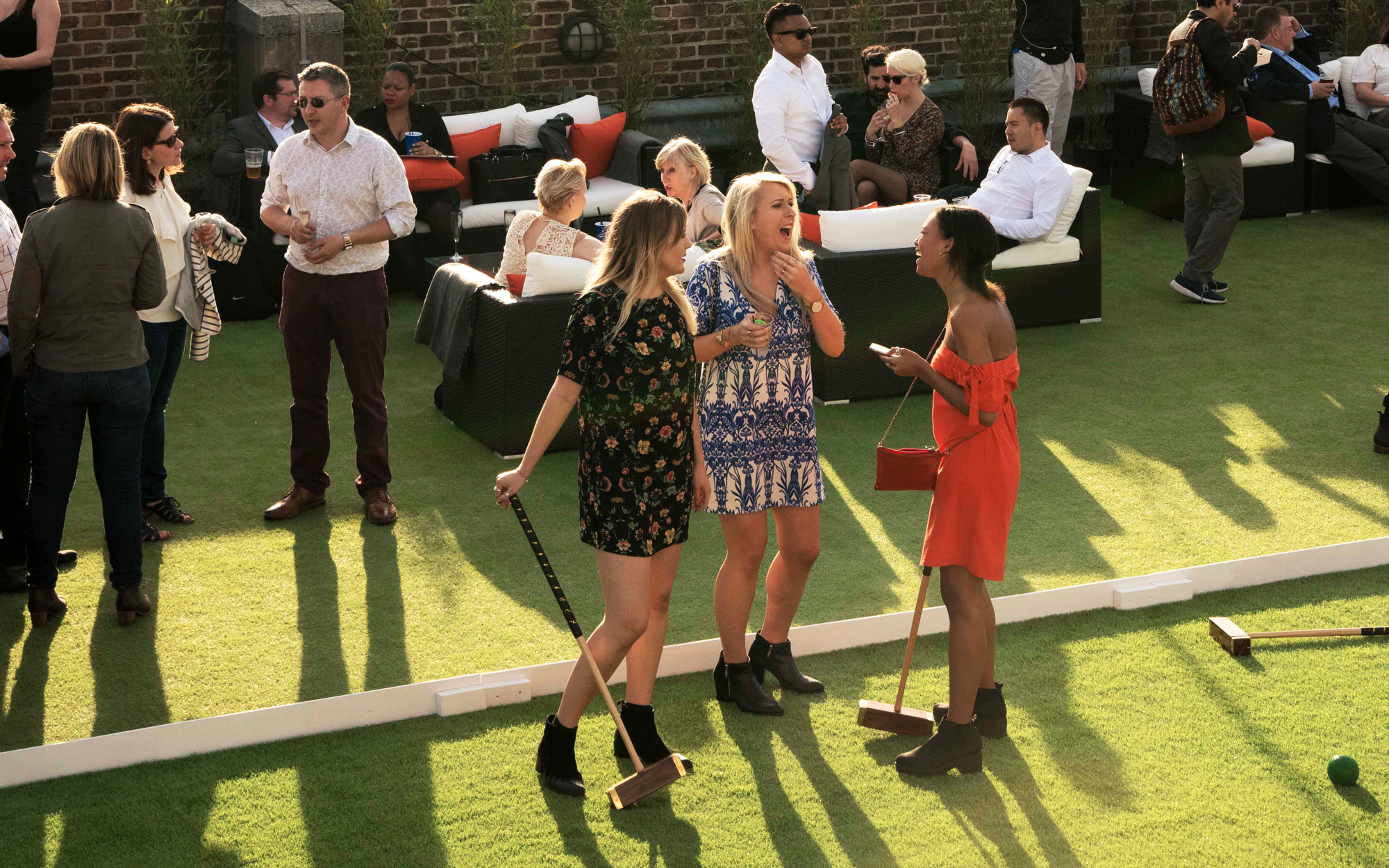 Skylight London Tobacco Dock rooftop terrace bar event space private party screening outdoor summer winter