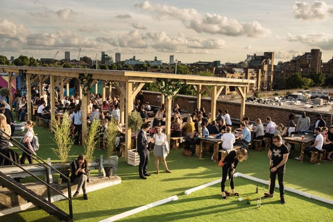 Why your group should head to Skylight for a game of croquet