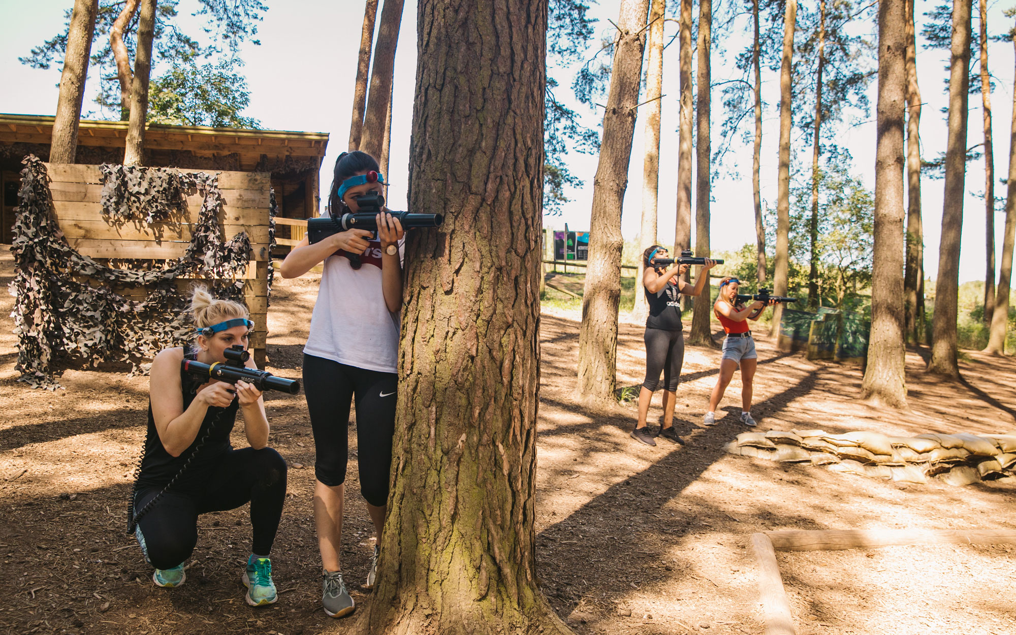 Center Parcs teambuilding conquer the forest