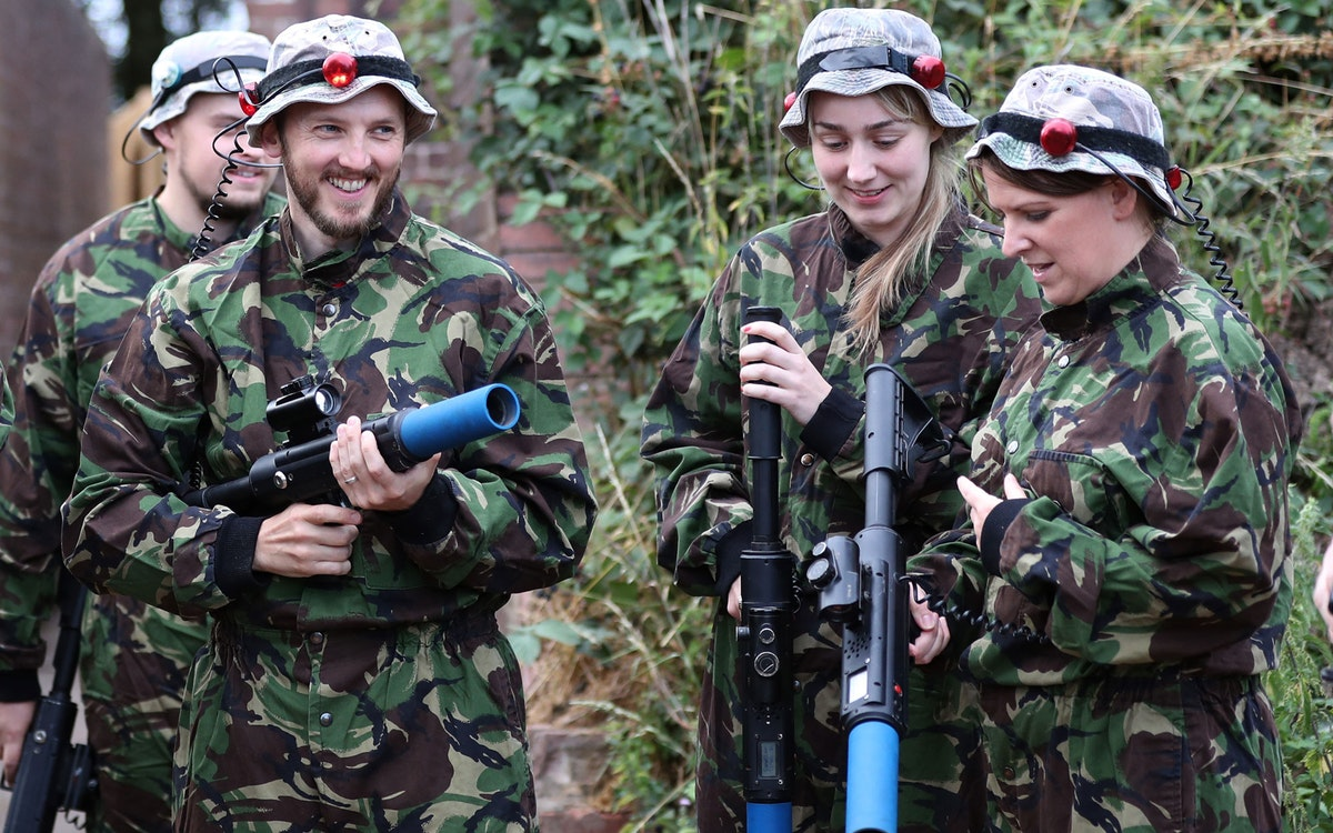 Hit the Staffordshire countryside for some laser combat