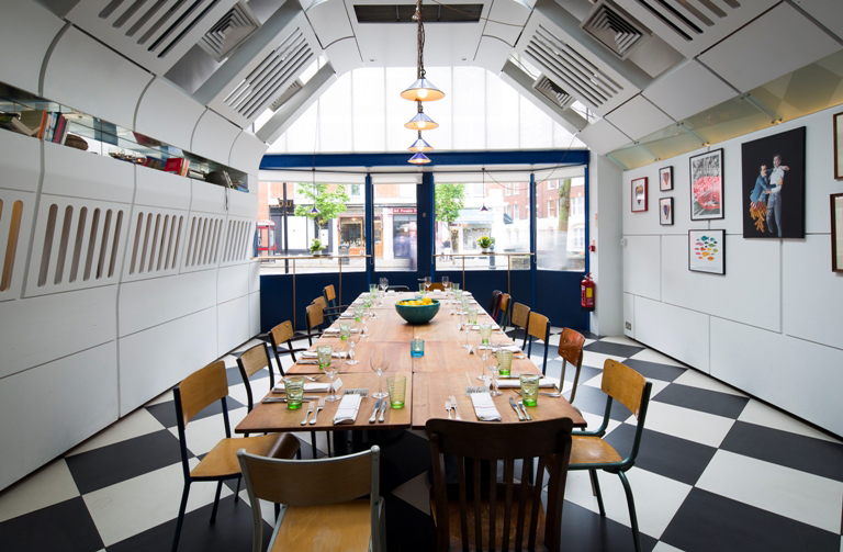 Kensington Place - private dining room