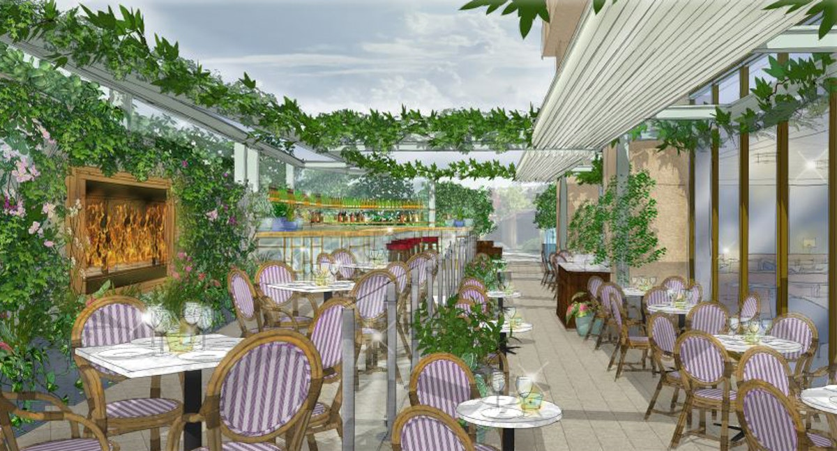 Bookings open for The Ivy City Garden