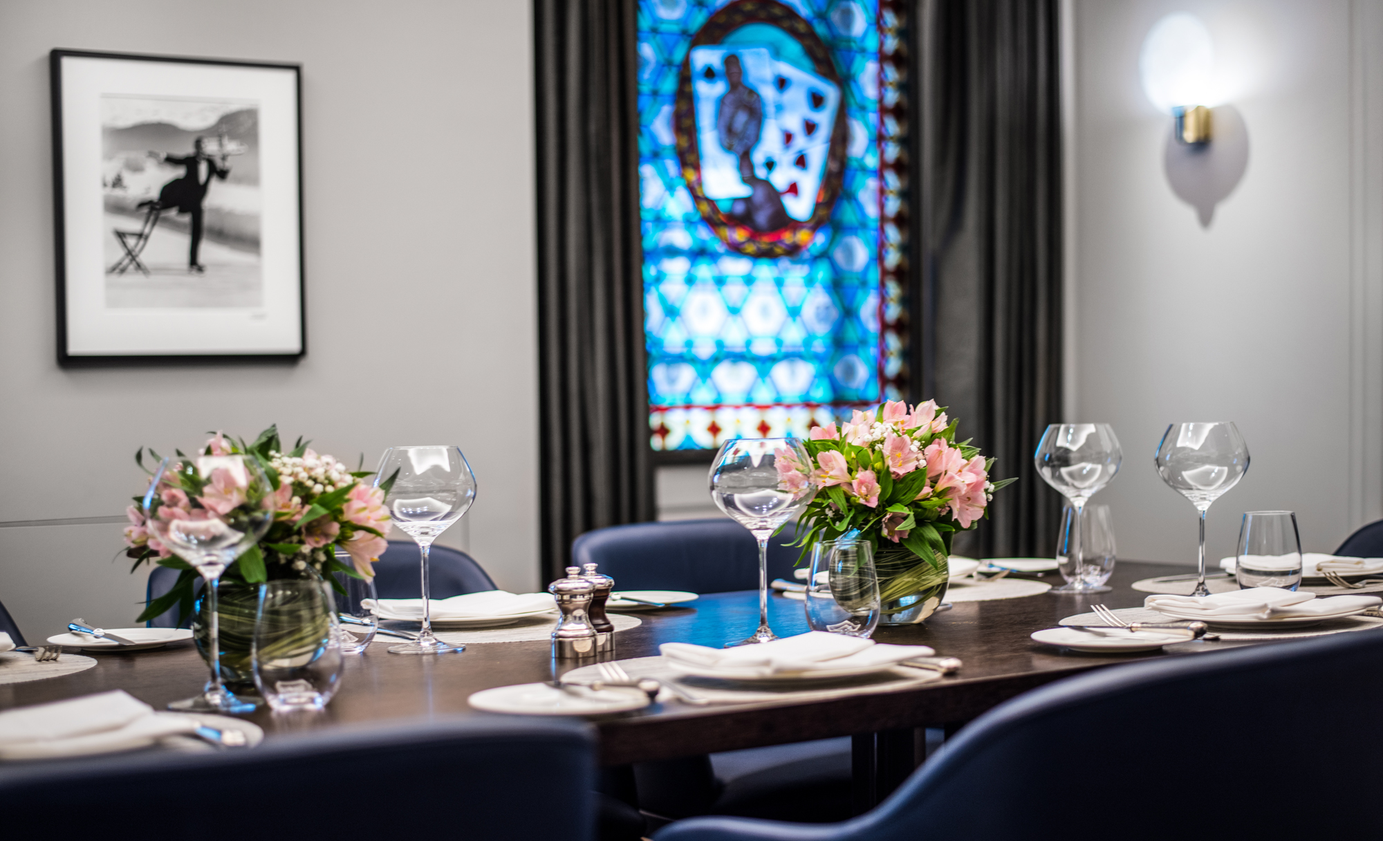 27 Restaurant and Bar Crown Aspinalls mayfair west end london venues corporate hire dining