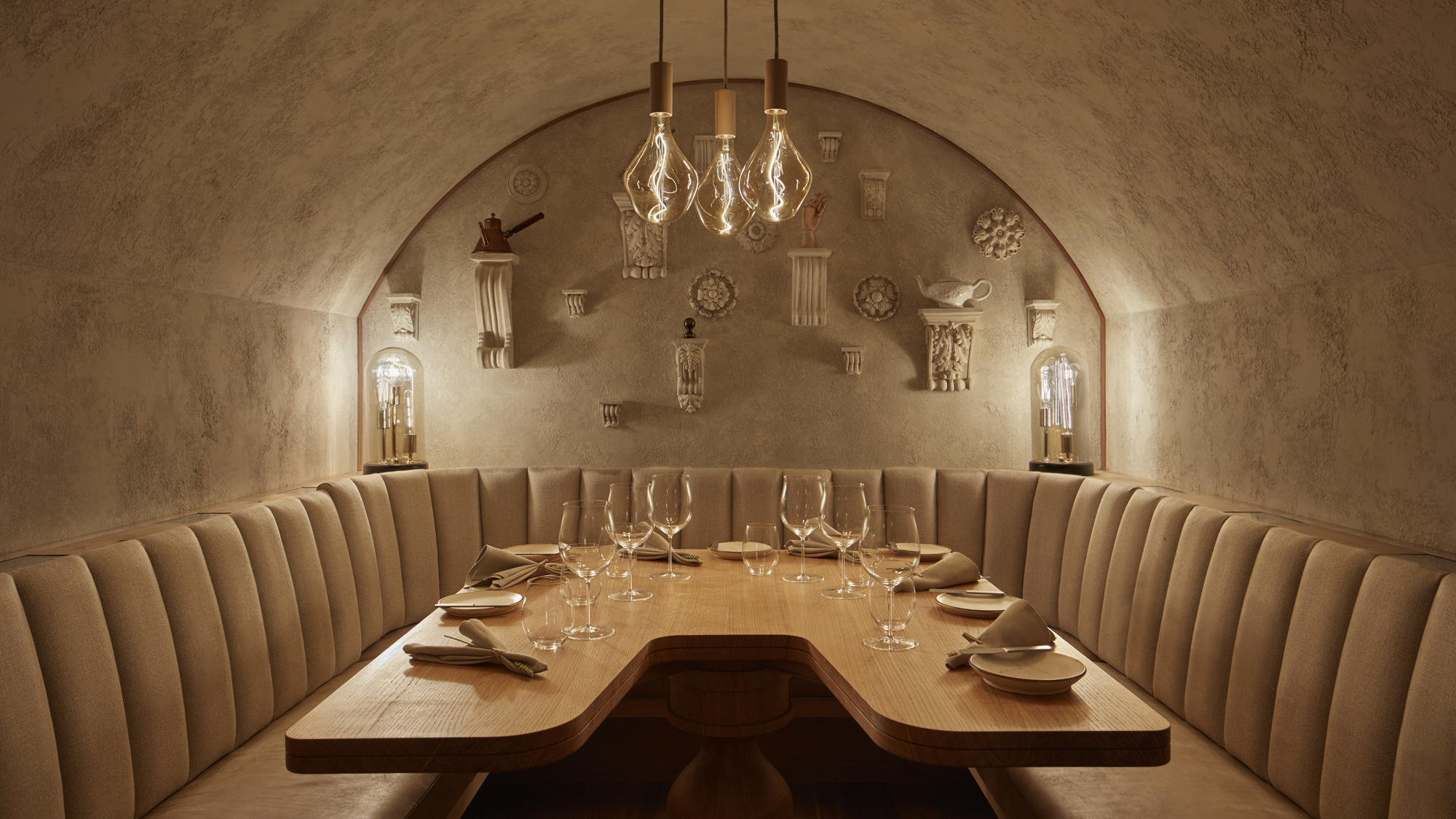 Hide Ollie Dabbous restaurants west end london mayfair private dining rooms shadow room vault interactive dining