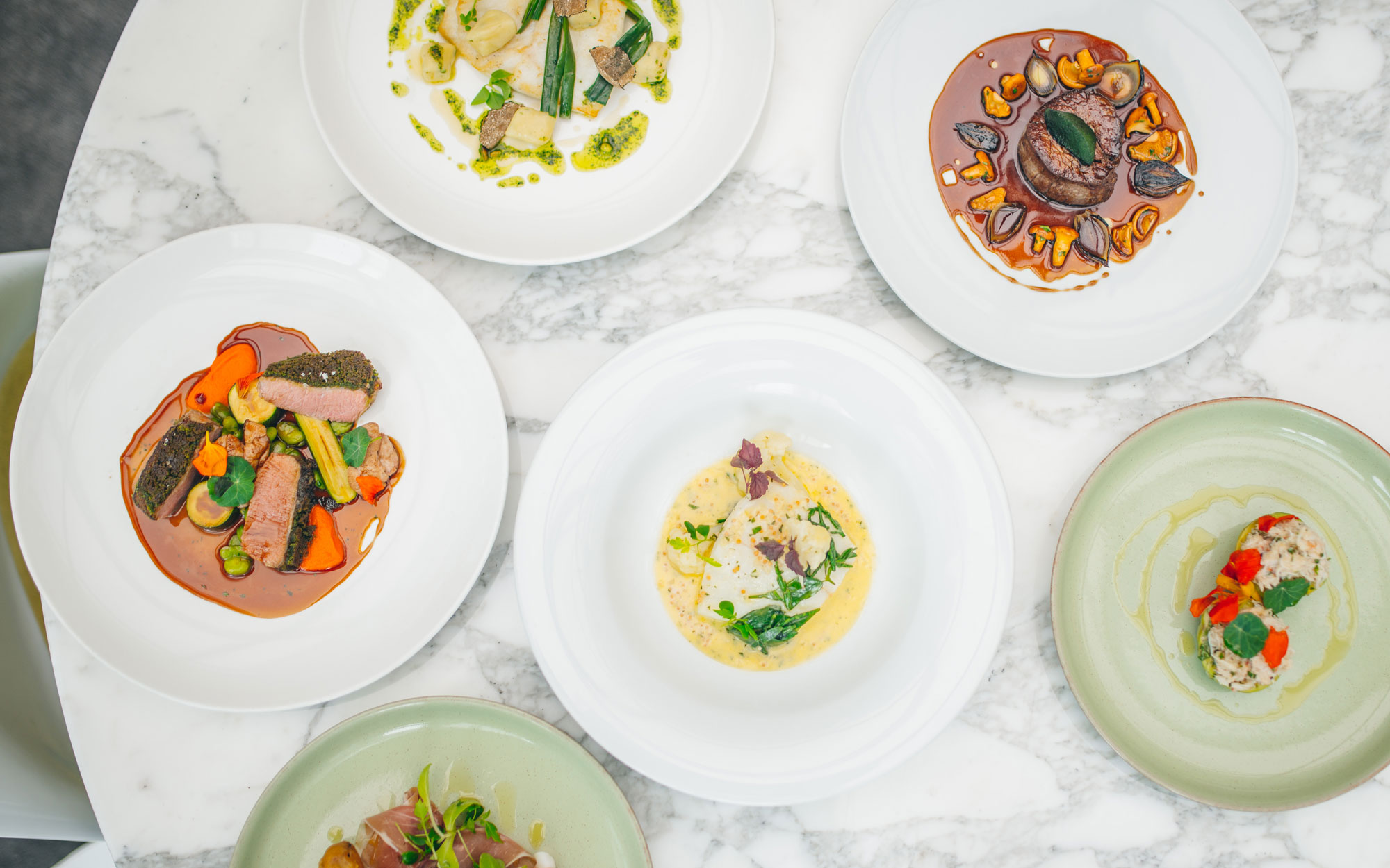 PlateaU new menu new chef private dining food