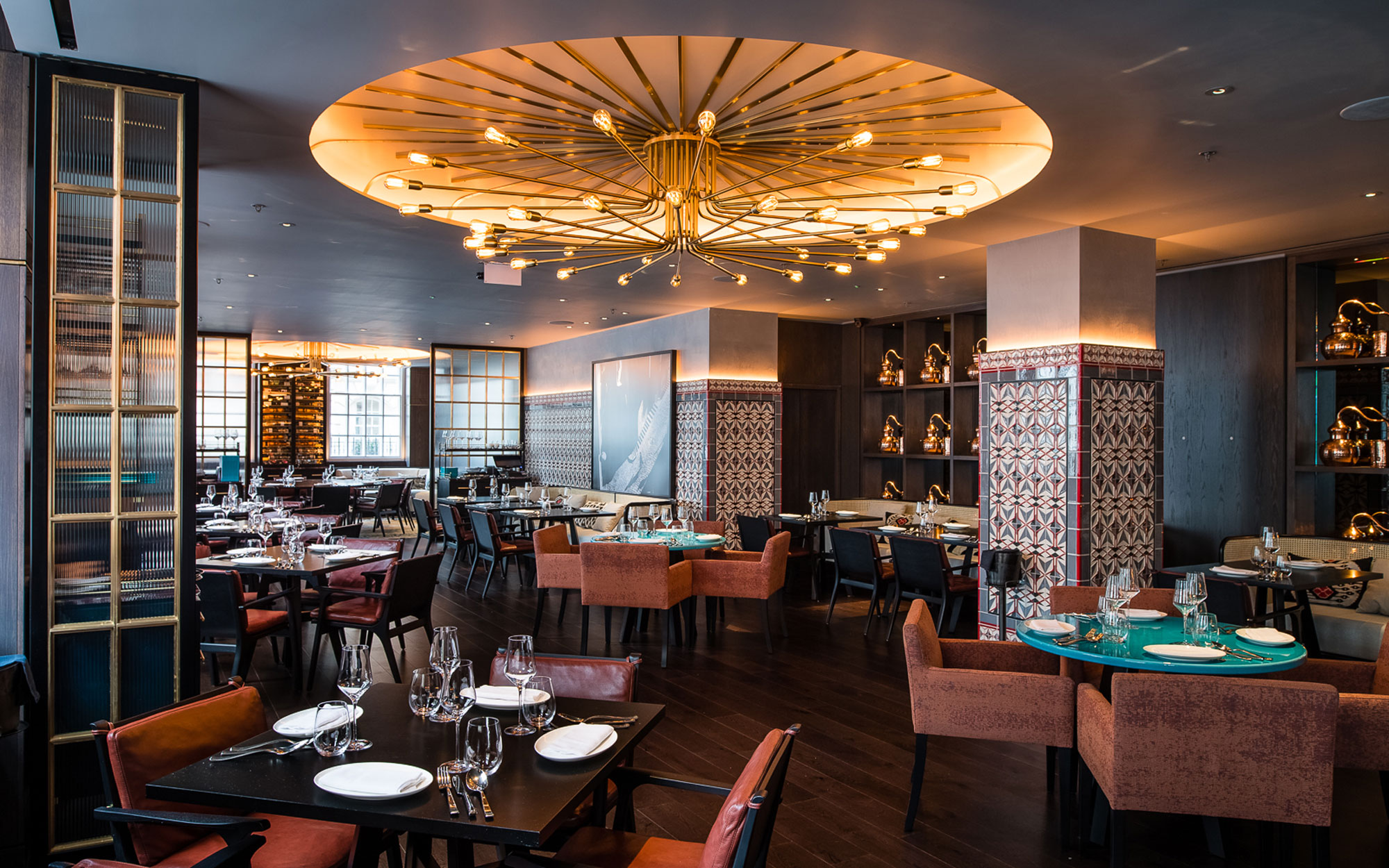 Ruya London private dining restaurant event space