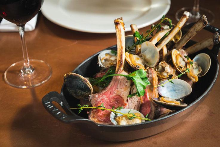 Hawksmoor Brough London restaurant bar British steak