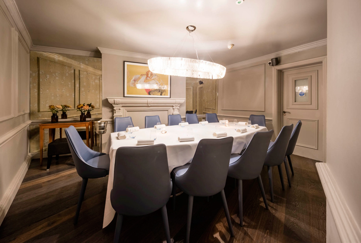 Launceston Place Private Dining Room