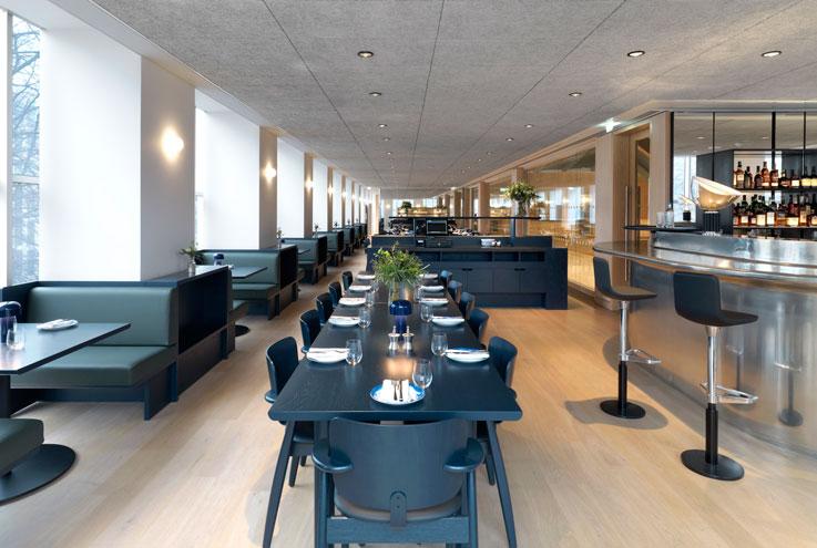 Parabola London Kensington restaurant bar chef residency Design Museum