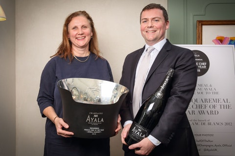 Angela Hartnett is the winner of the AYALA SquareMeal Female Chef of the Year