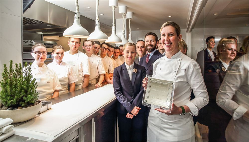 Core by Clare Smyth is SquareMeal's Restaurant of the Year 2018