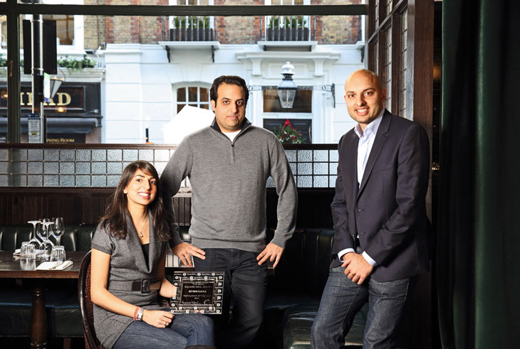 Gymkhana Square Meal Restaurant of the Year 2014