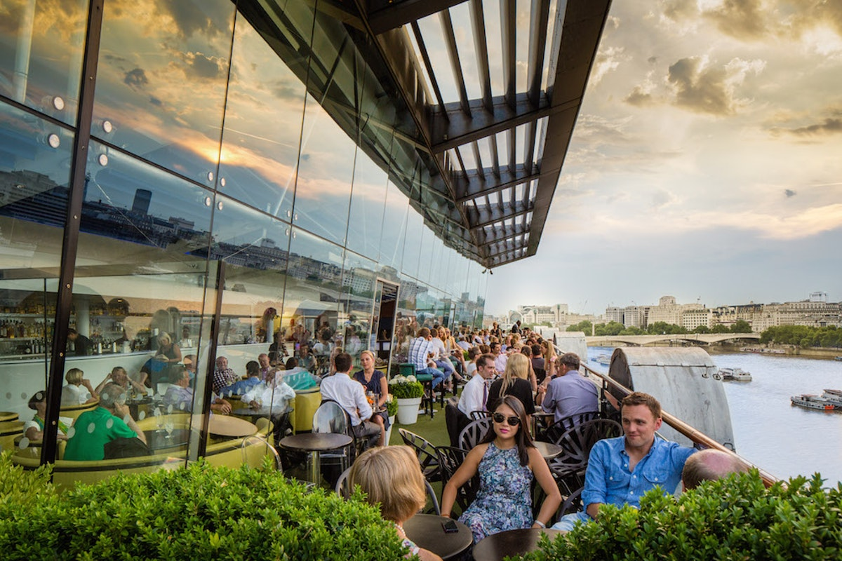 The best bars in London for outside drinking
