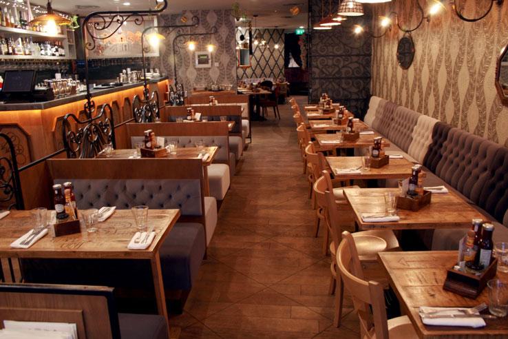 Balans Soho Society restaurant bar London Soho