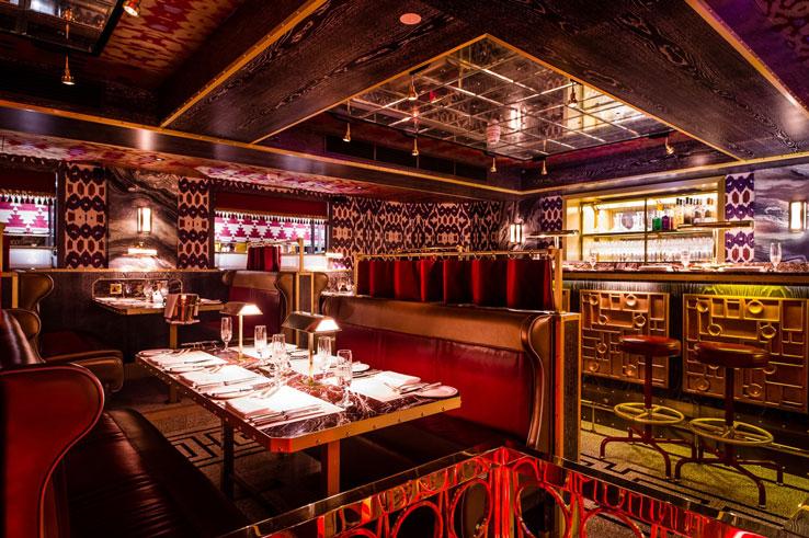 Bob Bob Ricard London Soho restaurant bar
