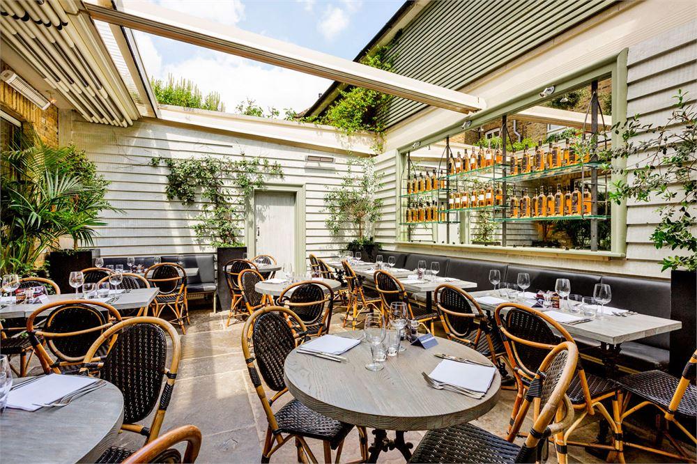 10 great London restaurants with gardens