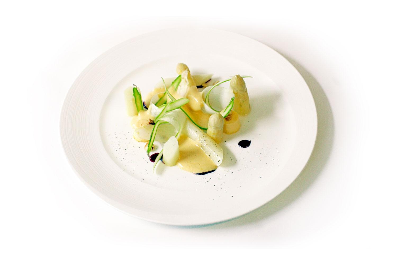 vegan dish white plate