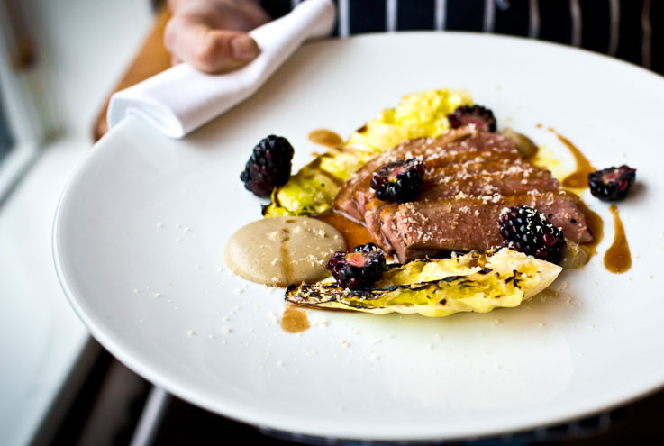 Hispi Manchester Didsbury restaurant chef Gary Usher