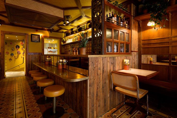 Hoppers Indian restaurant Soho London bar