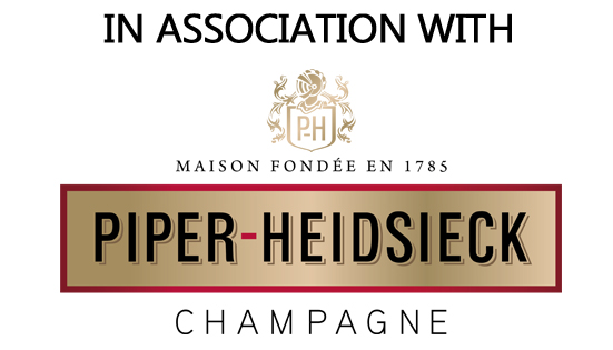 In association with Piper Heidsieck logo