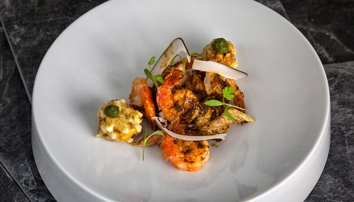 Indian Accent starter