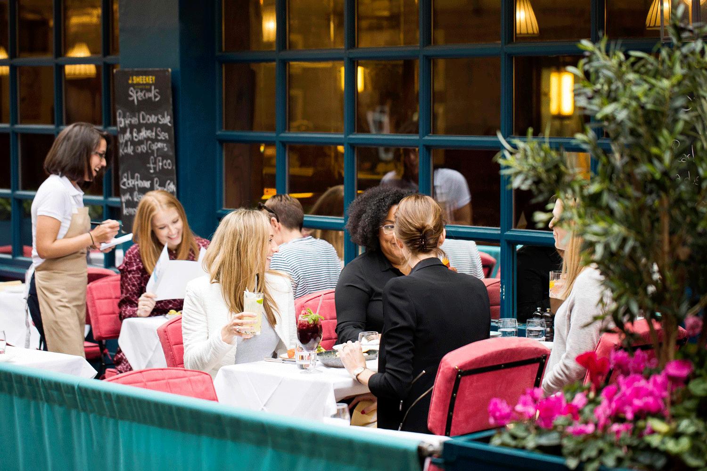 London restaurant bar summer terraces