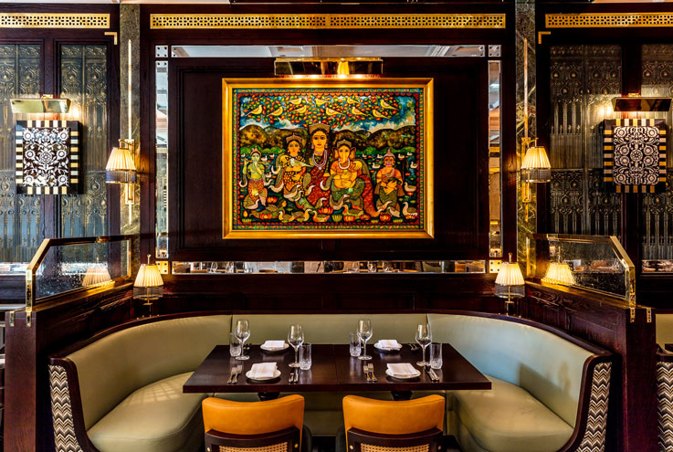 Jamavar Indian restaurant Mayfair London