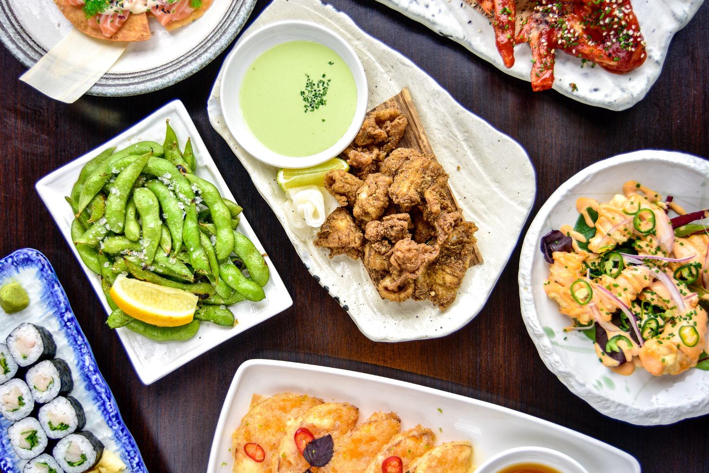 Kurobuta brunch dishes