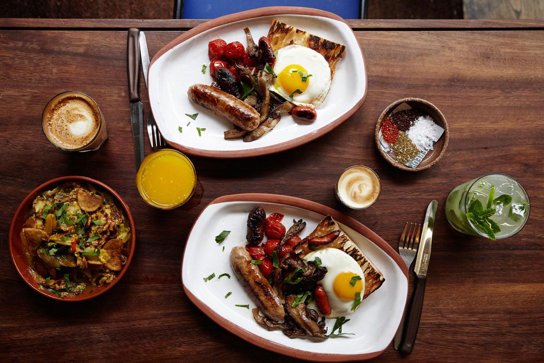 Morito breakfast plate