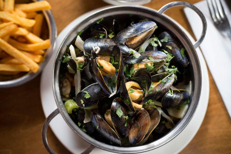 Belgo moules London seafood restaurants