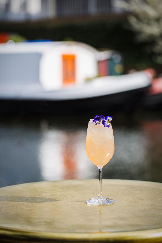 The Lighterman summer cocktail