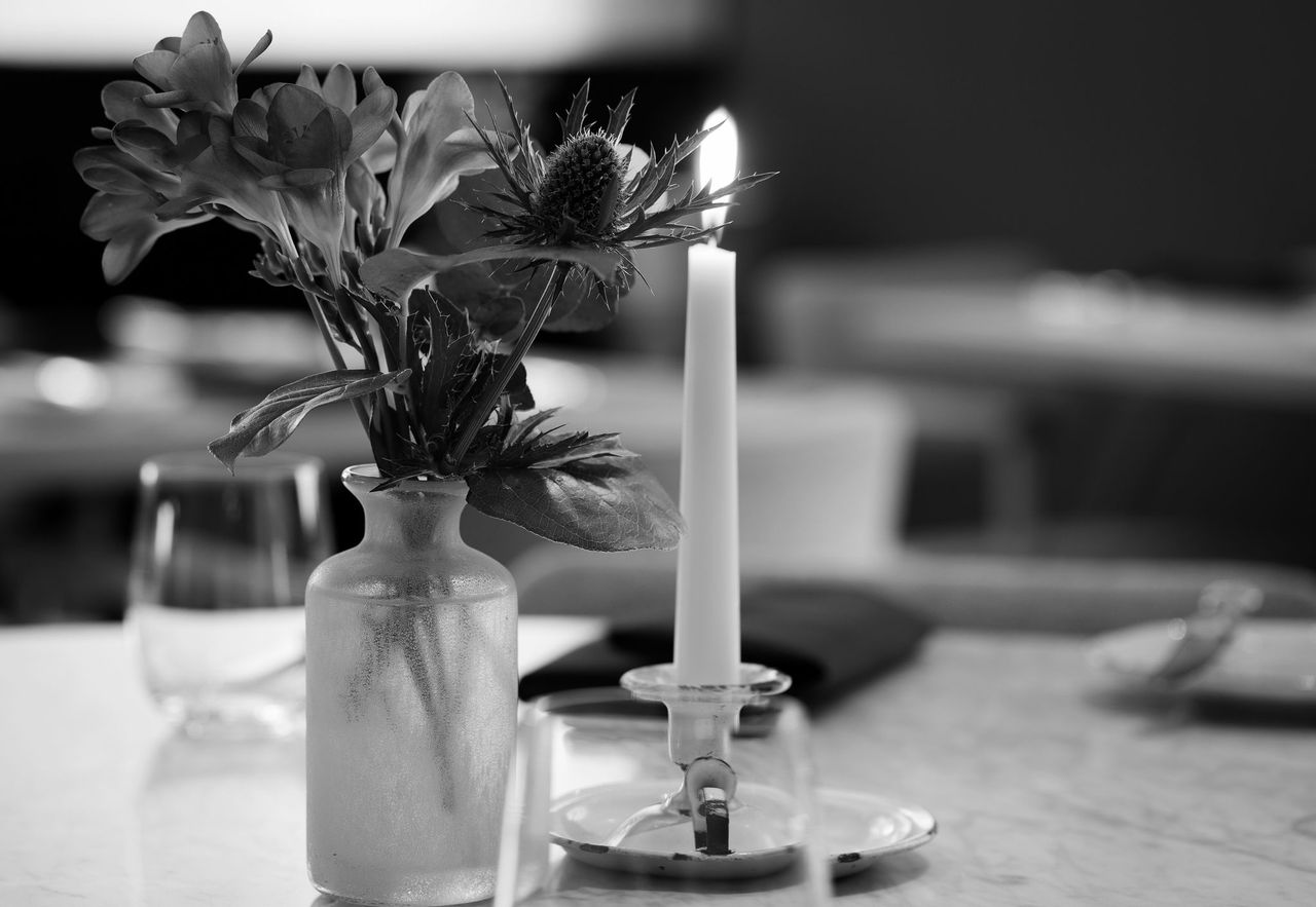 Typing Room Candle