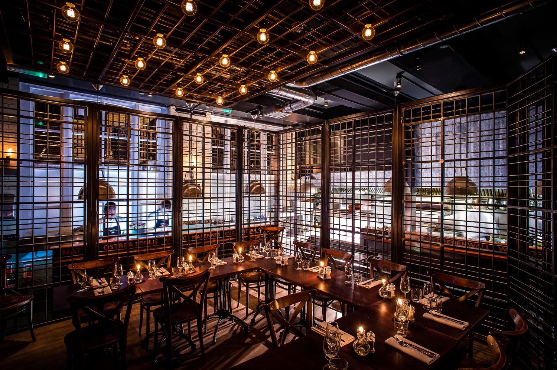 London restaurant bar private dininig rooms