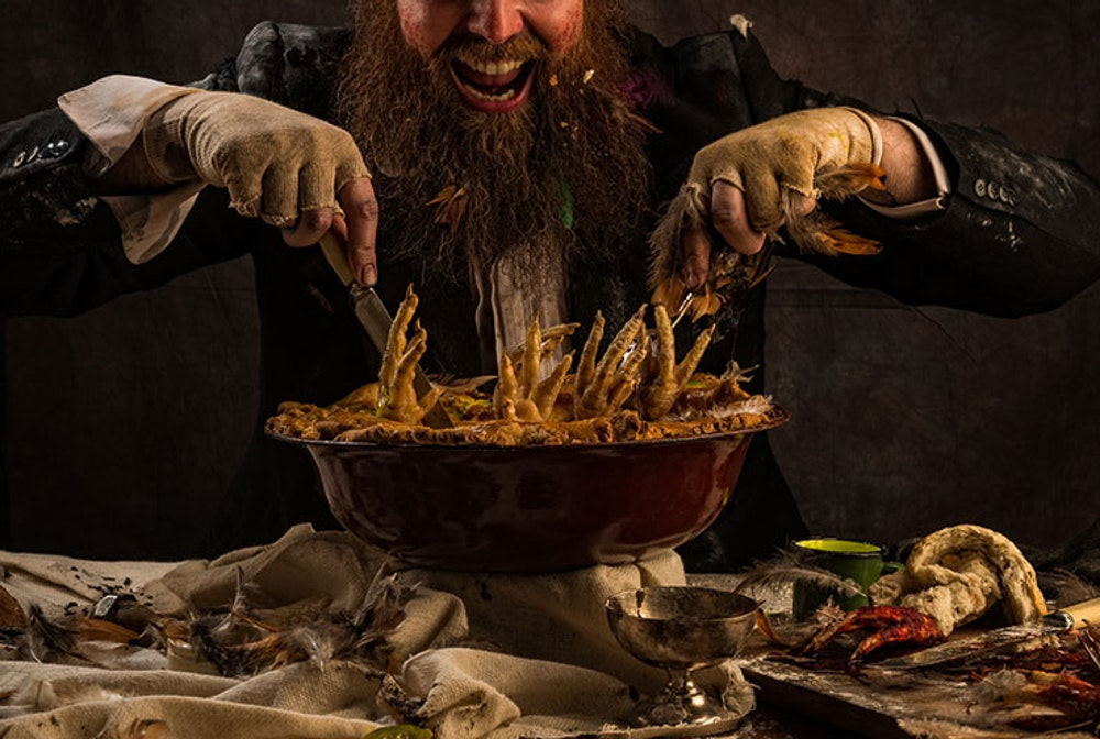 Mr and Mrs Twit are having a dinner party and YOU are invited