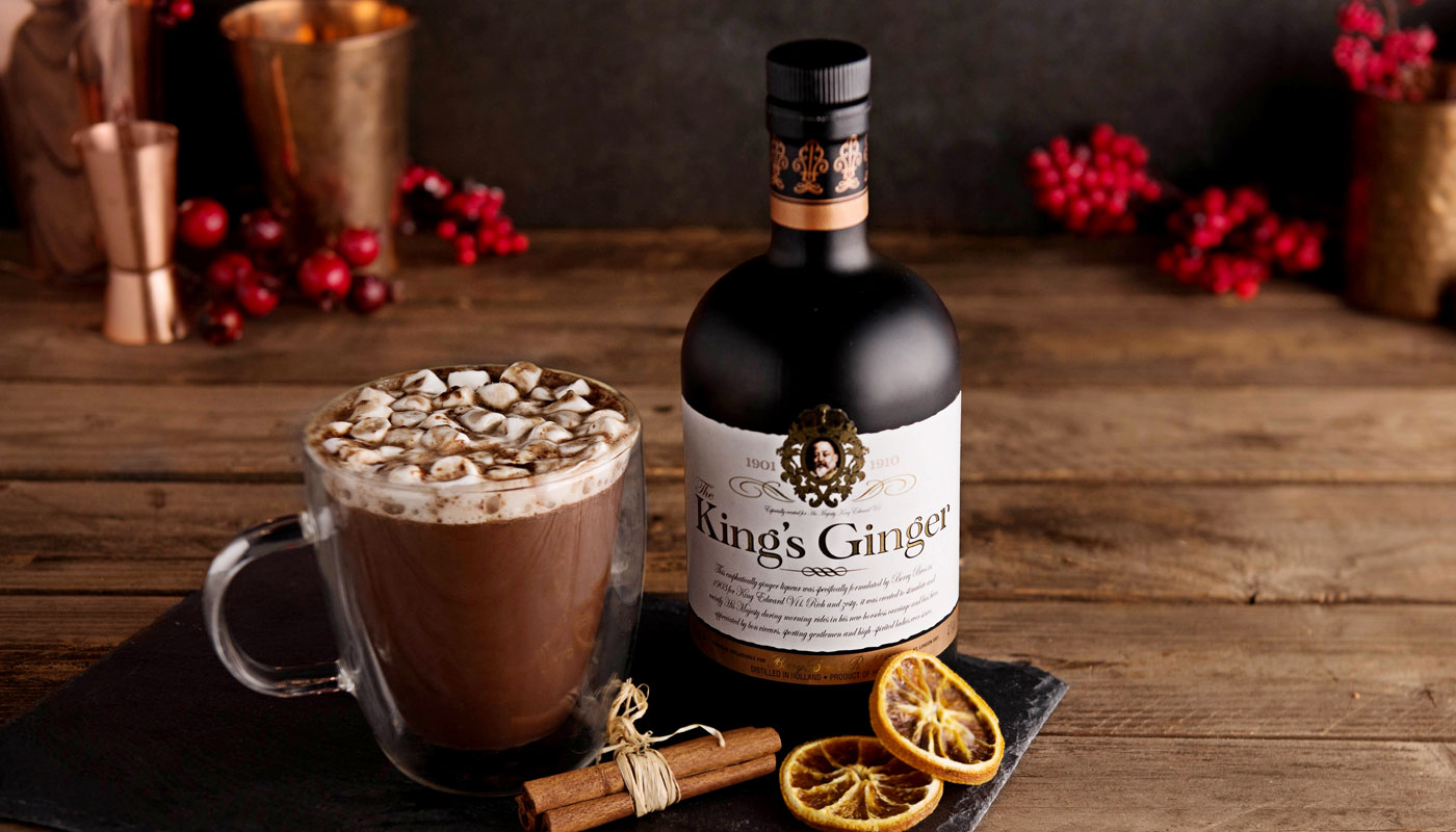Kings Ginger hot chocolate