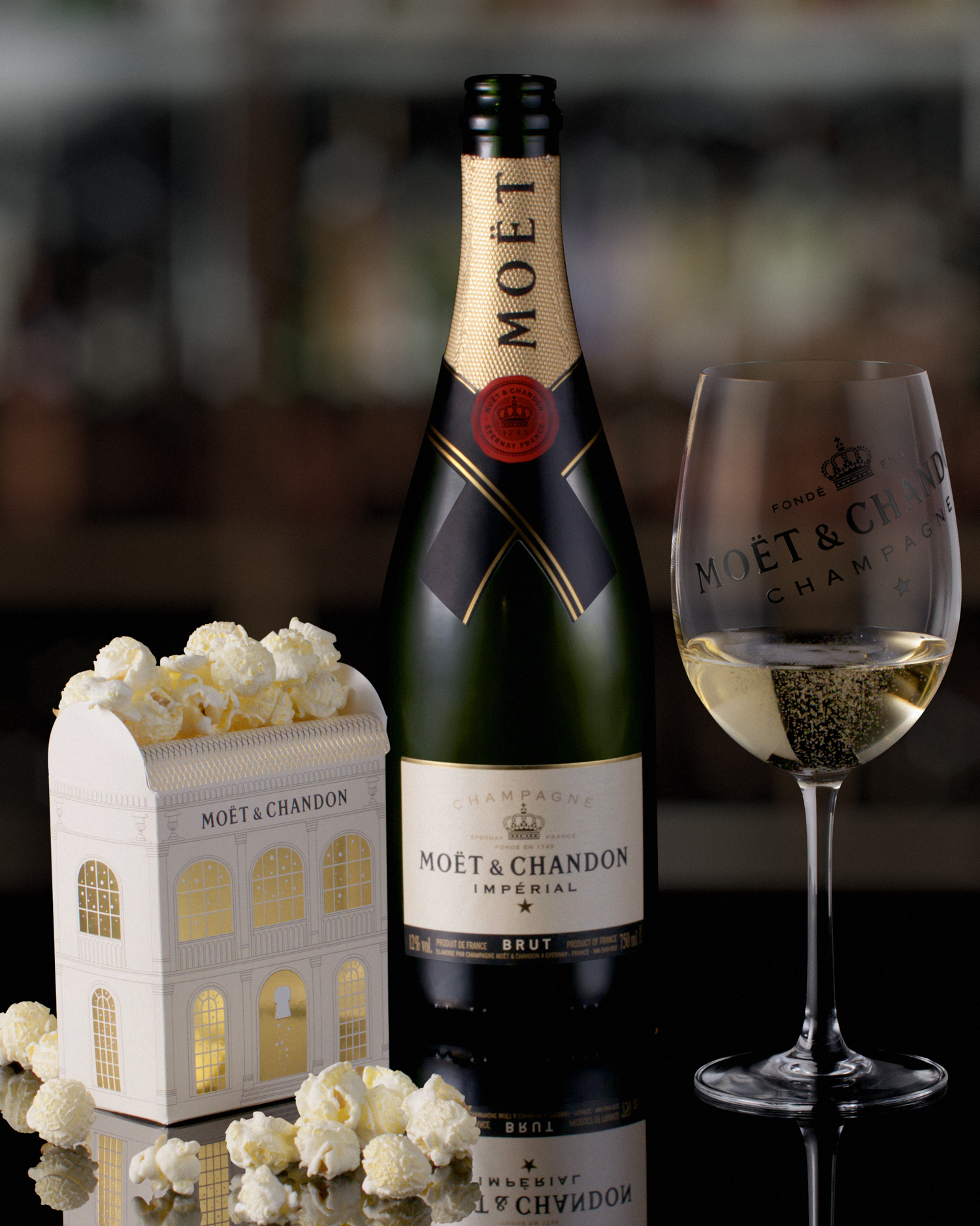 moet and chandon truffle popcorn