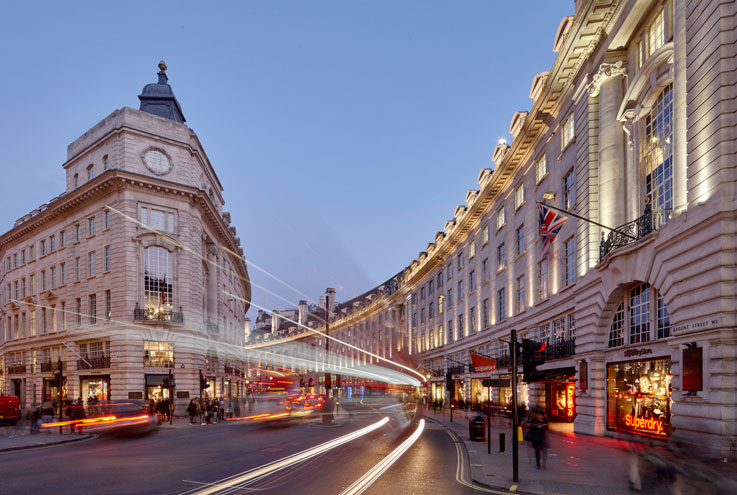 Regent street London restaurants
