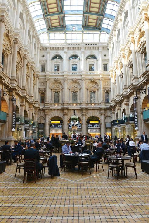 The Royal Exchange City of London Christmas shopping