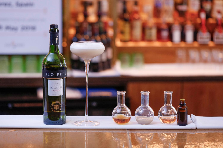 Tio Pepe Gabor Molnar bartender drink