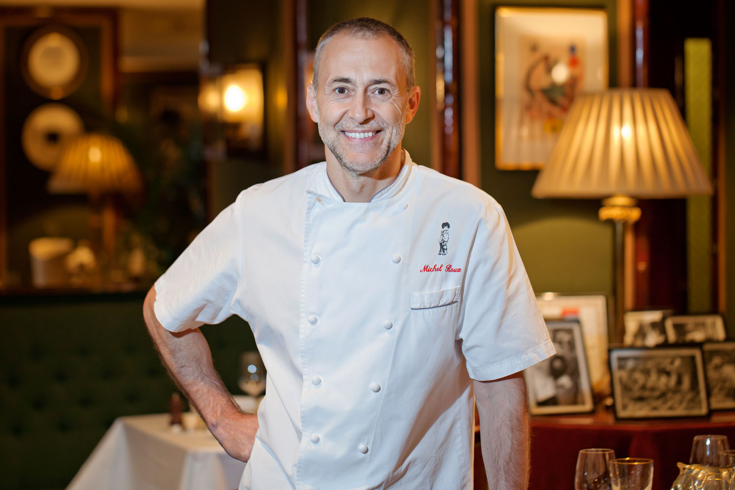 michel roux jr at le gavroche