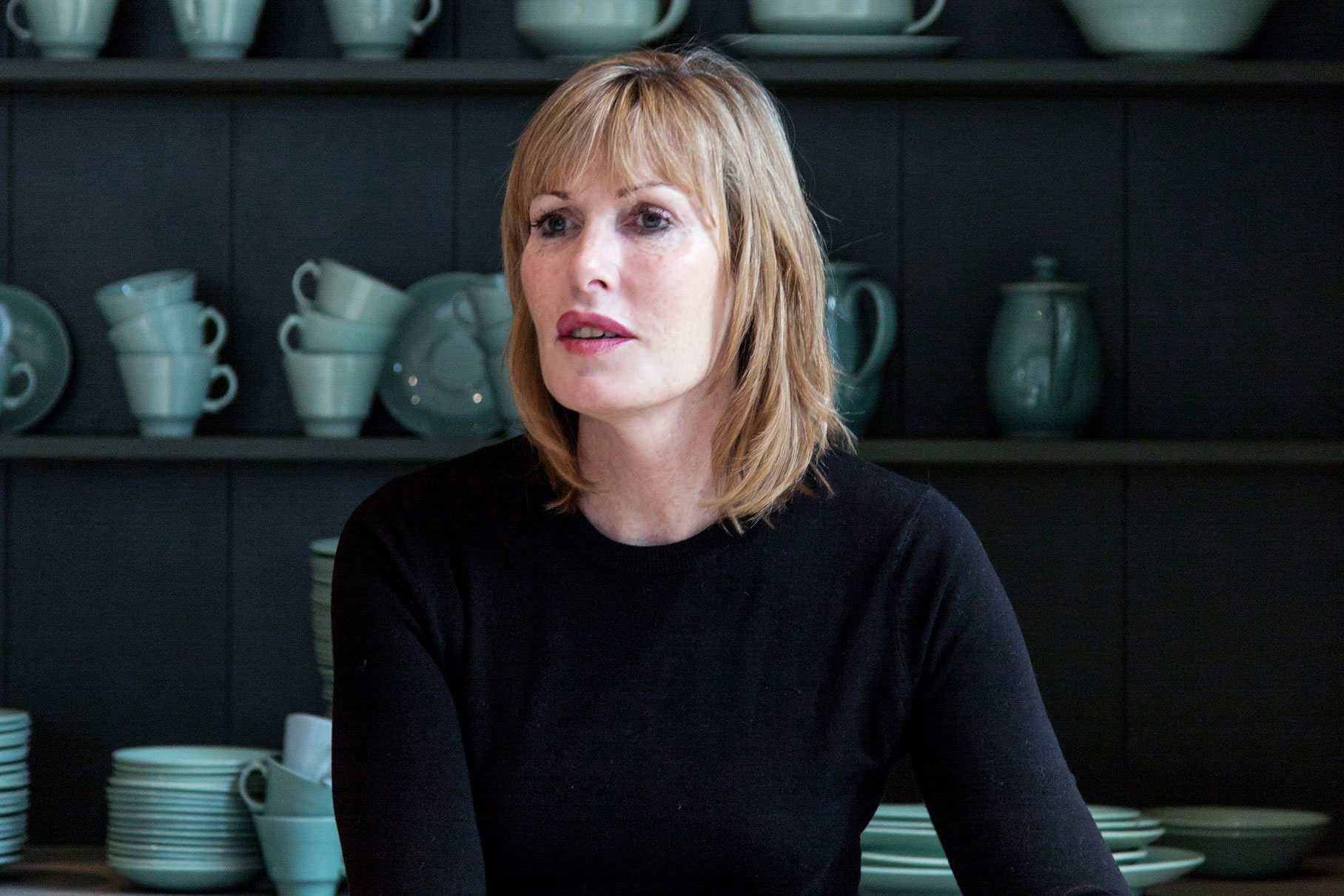 Skye Gyngell chef seated