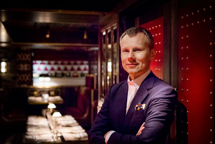 Leonid Shutov London restauranteur Bob Bob Ricard Bob Bob Exchange