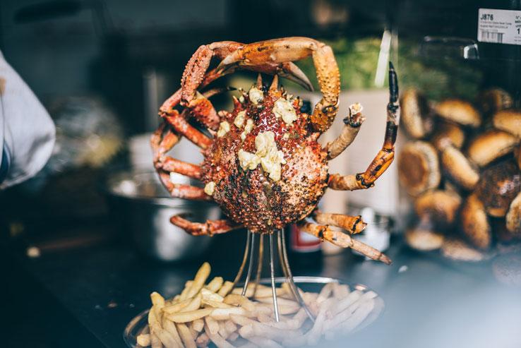 Prawnography London pop up event seafood