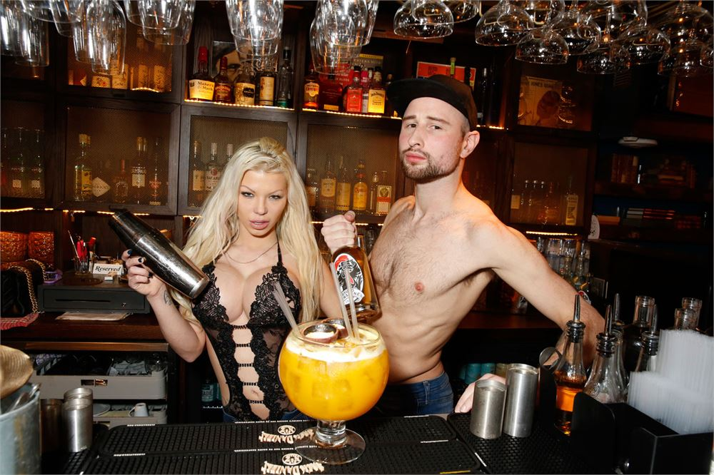 This London restaurant serves Pornstar Martinis with a real-life porn star on the side