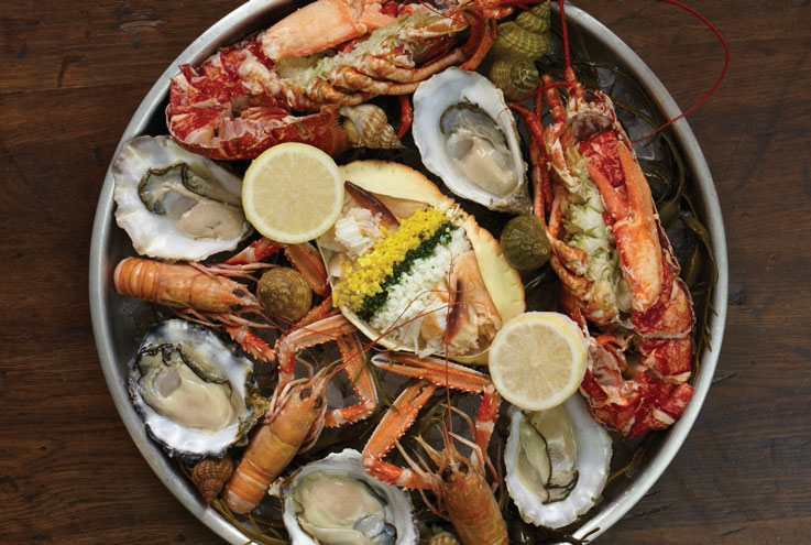 Oyster season London restaurants seafood