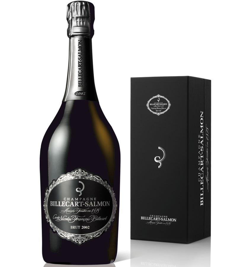 Billecart champagne box