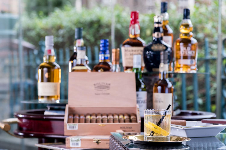 Blue Door Bistro Burns night whisky and cigars