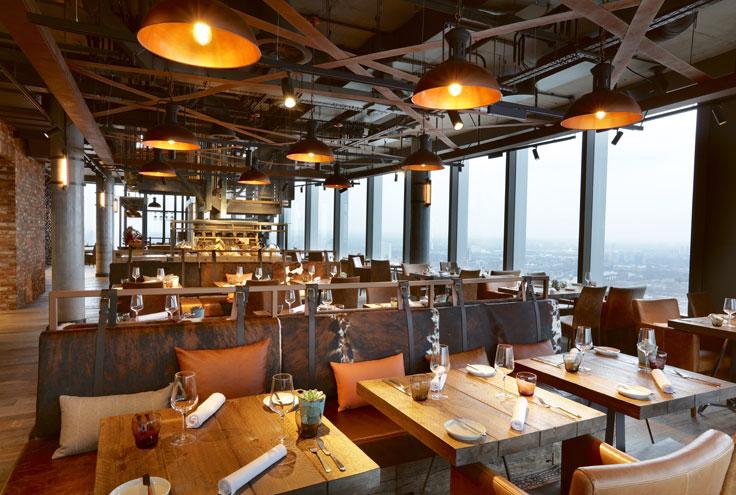 Bokan London restaurant bar hotel Docklands